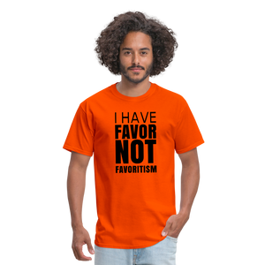 I Have Favor Men's T-Shirt - orange