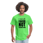 I Have Favor Men's T-Shirt - kiwi