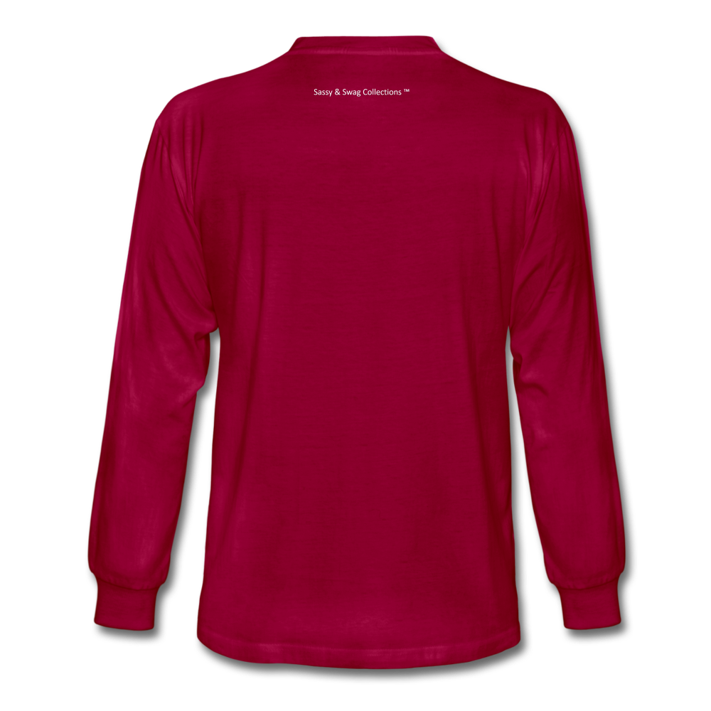 I Have Favor Men's Long Sleeve T-Shirt - dark red