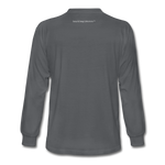 I Have Favor Men's Long Sleeve T-Shirt - charcoal