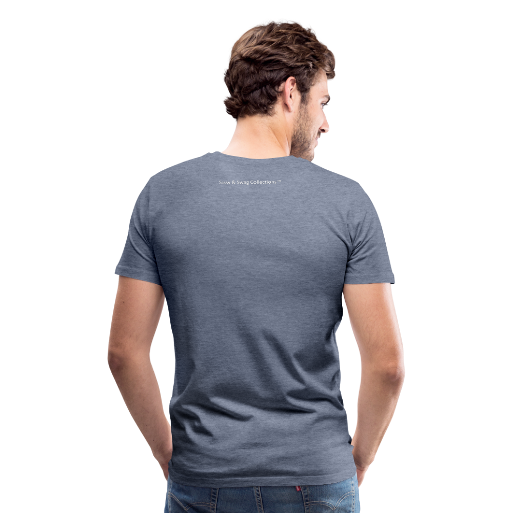 I Have Favor Men's Premium T-Shirt - heather blue