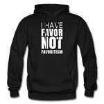 I Have Favor Gildan Heavy Blend Adult Hoodie - black