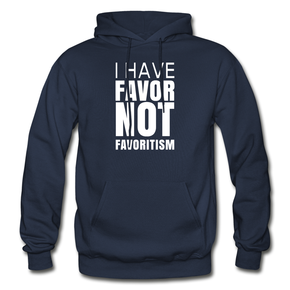 I Have Favor Gildan Heavy Blend Adult Hoodie - navy