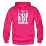I Have Favor Gildan Heavy Blend Adult Hoodie - fuchsia