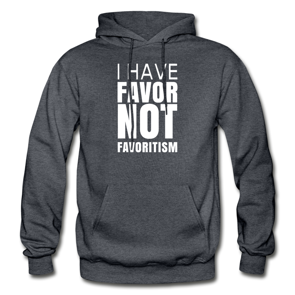 I Have Favor Gildan Heavy Blend Adult Hoodie - charcoal gray