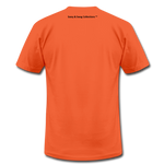 I Walk By Faith Unisex Jersey T-Shirt - orange