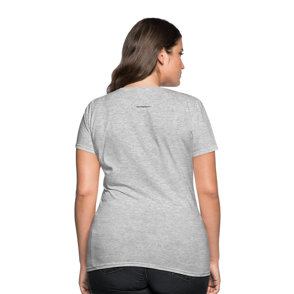 Incredible Praise Women's T-Shirt - heather gray