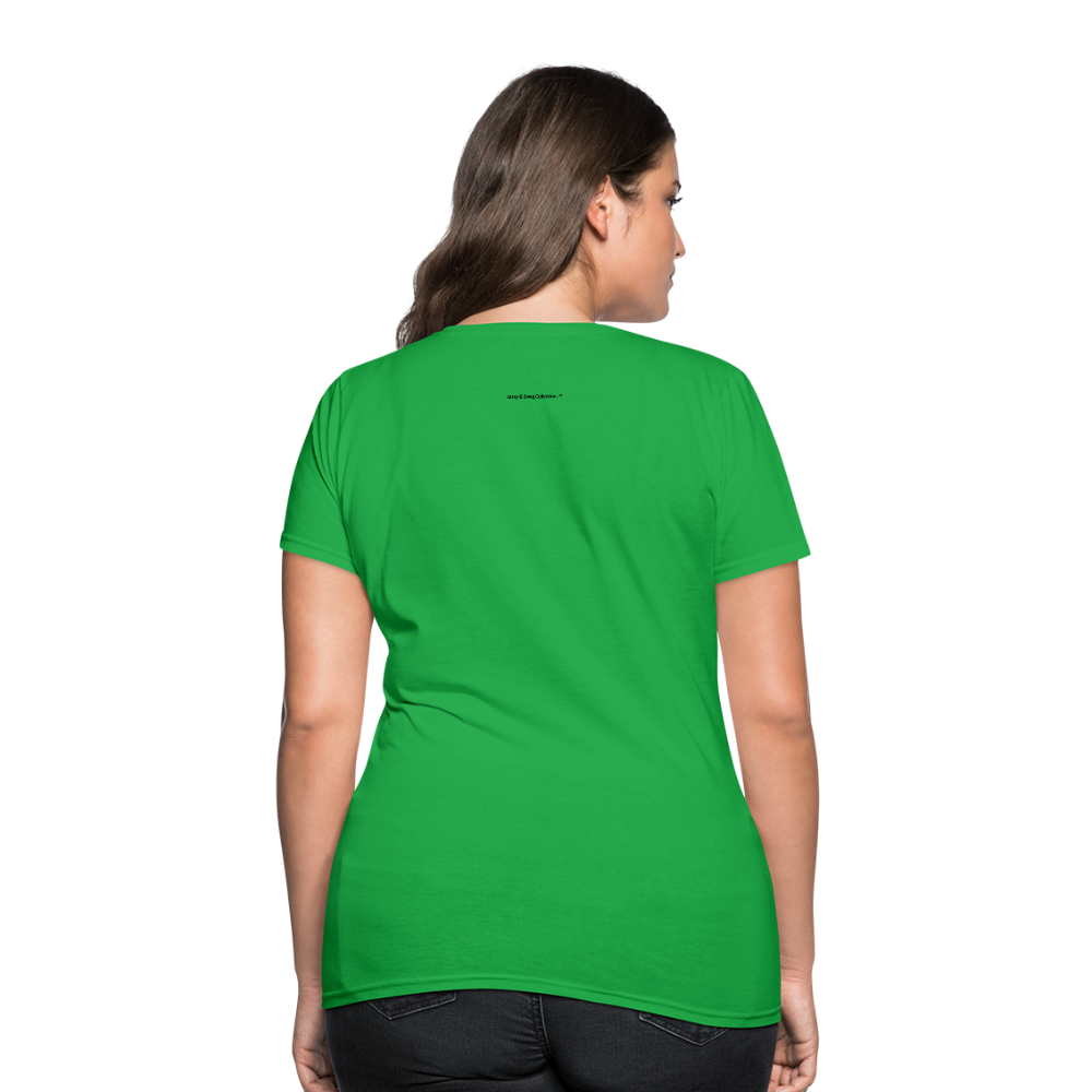 Incredible Praise Women's T-Shirt - bright green