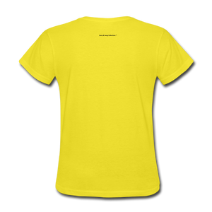 Incredible Praise Women's T-Shirt - yellow