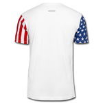 Stars & Stripes Unisex T-Shirt - white