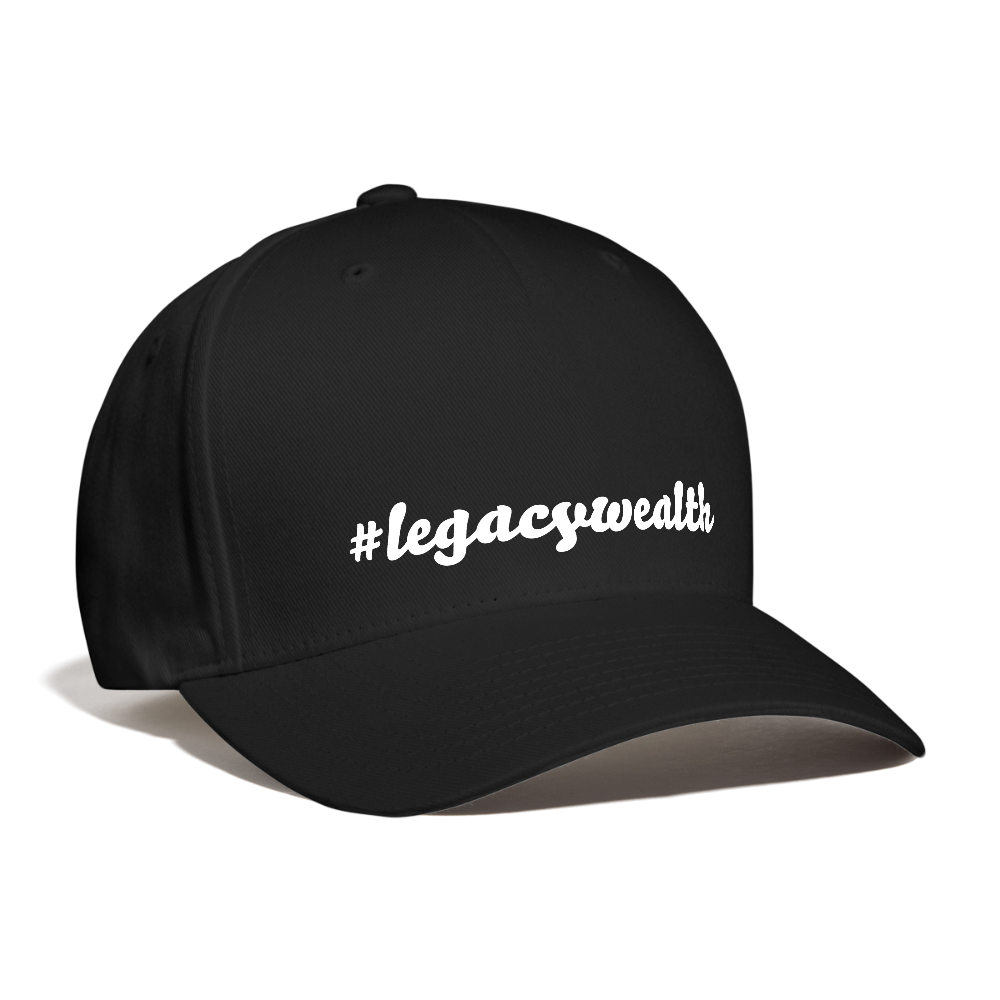 #legacywealth Unisex Baseball Cap - black