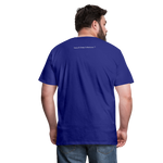 God Is Good Men's Premium T-Shirt - royal blue