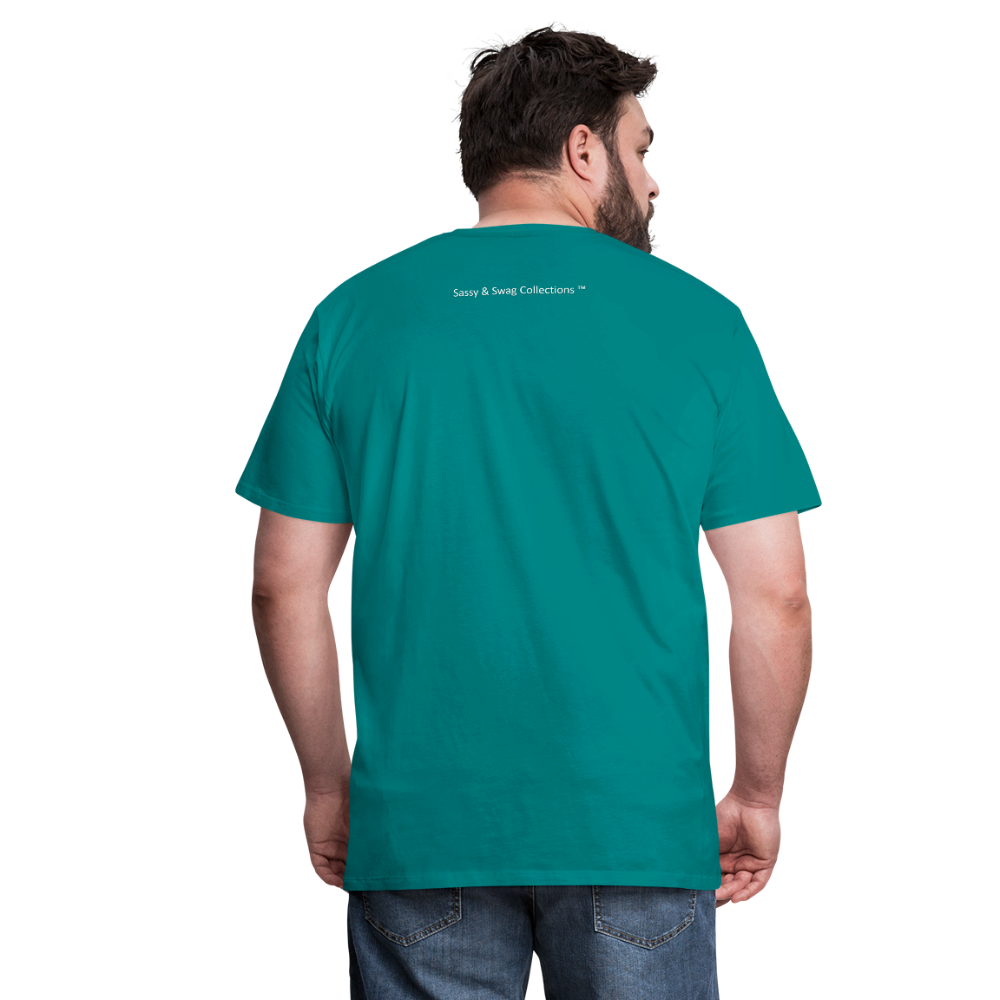God Is Good Men's Premium T-Shirt - teal