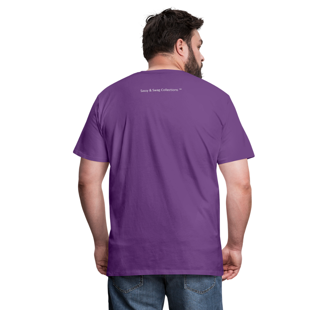 God Is Good Men's Premium T-Shirt - purple