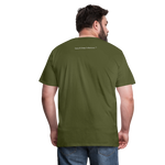 God Is Good Men's Premium T-Shirt - olive green