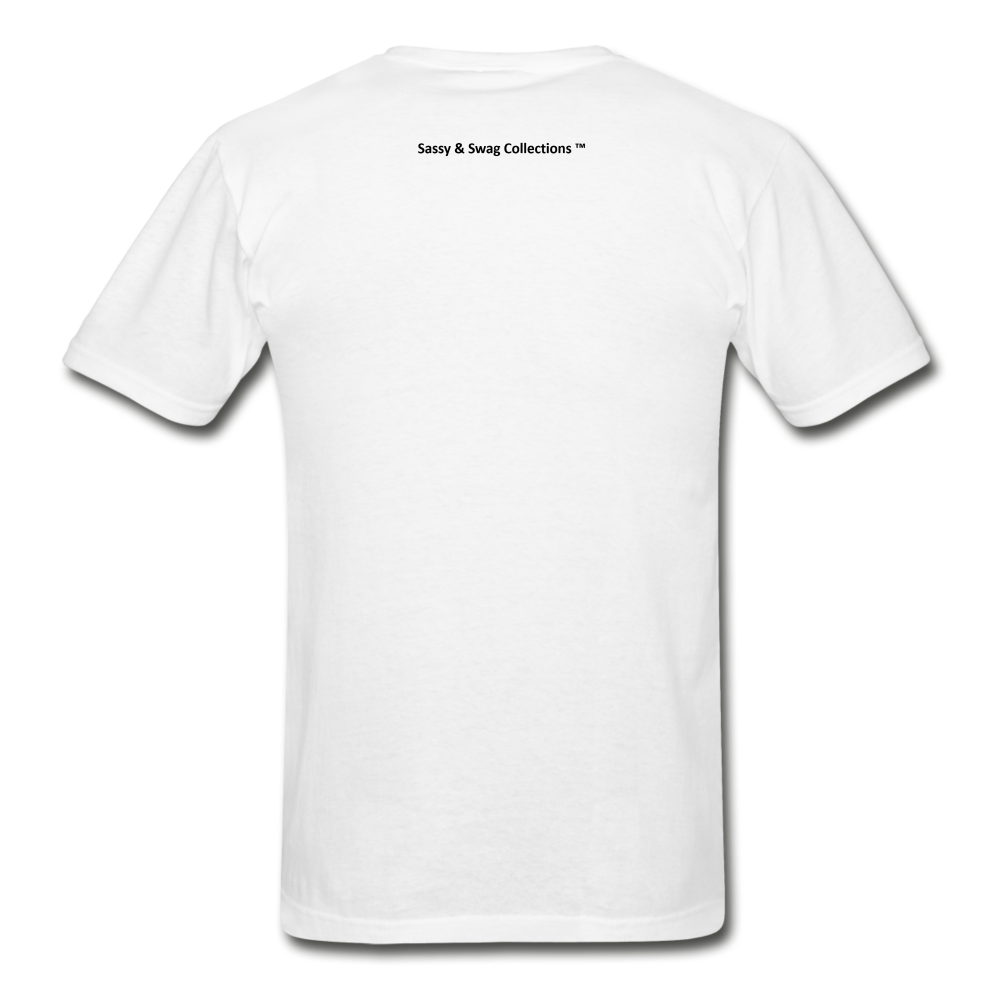 Fearfully Made Men's Tagless T-Shirt - white