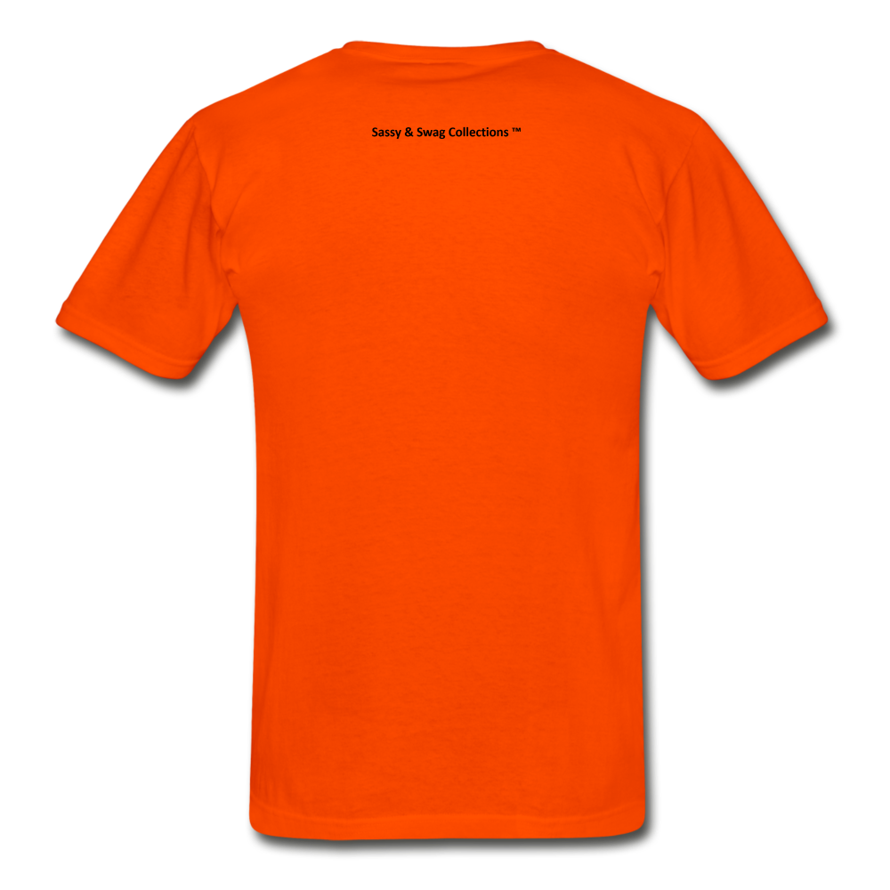 Fearfully Made Men's Tagless T-Shirt - orange
