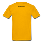 Fearfully Made Men's Tagless T-Shirt - gold