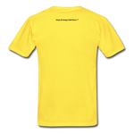 Fearfully Made Men's Tagless T-Shirt - yellow