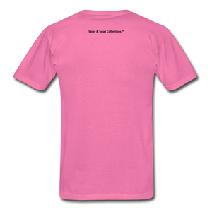 Fearfully Made Men's Tagless T-Shirt - hot pink