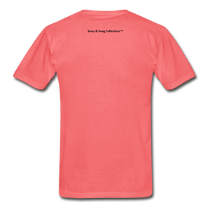 Fearfully Made Men's Tagless T-Shirt - coral