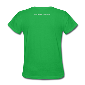 Education is My Superpower Women's T-Shirt - bright green