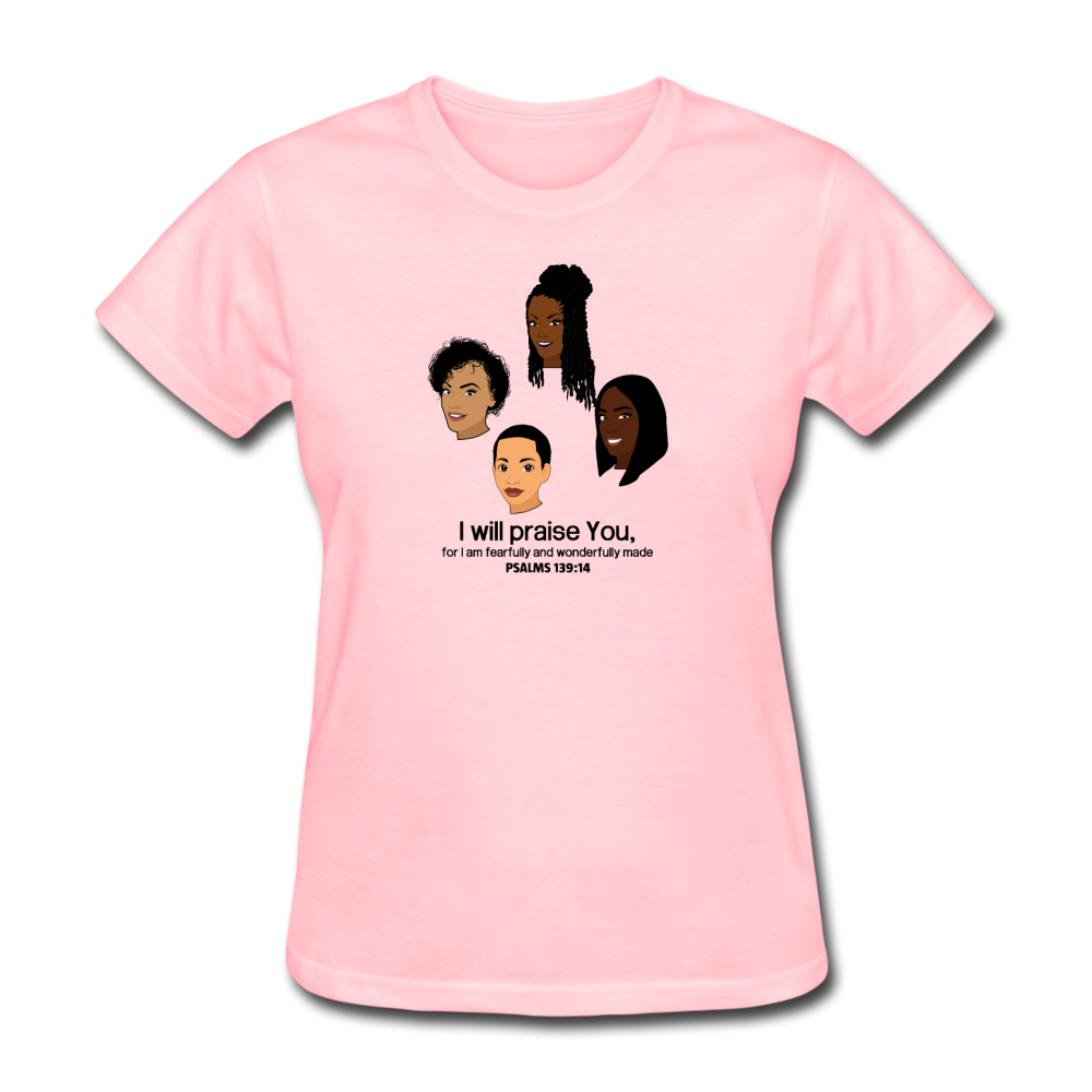 Fearfully Made Women's T-Shirt - pink