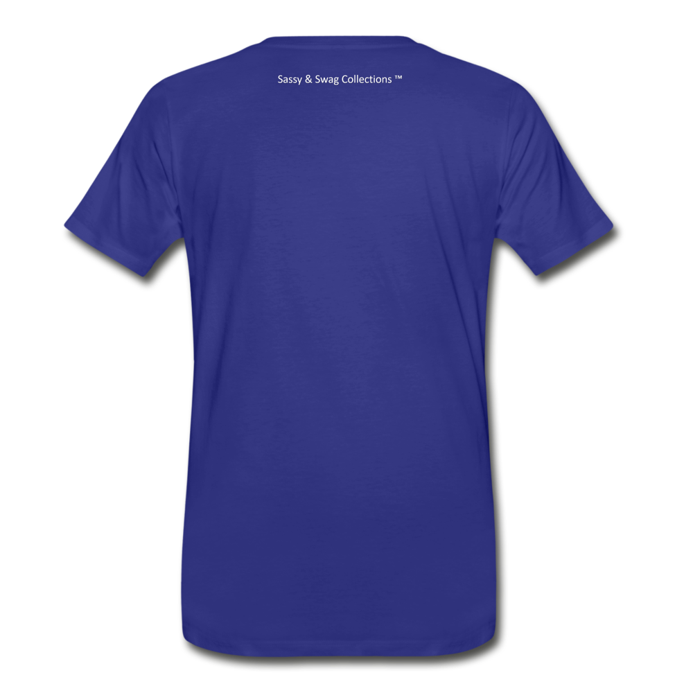 Education is My Superpower Men's Premium T-Shirt - royal blue