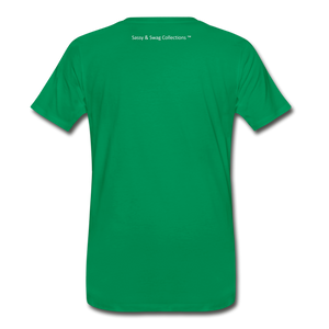 Education is My Superpower Men's Premium T-Shirt - kelly green