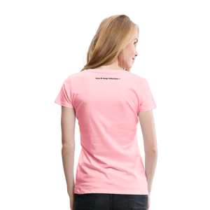 Jesus Take the Wheel Women's Premium T-Shirt - pink