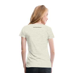 Jesus Take the Wheel Women's Premium T-Shirt - heather oatmeal