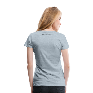 Jesus Take the Wheel Women's Premium T-Shirt - heather ice blue