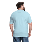 Faith of a Mustard See Men's T-Shirt - powder blue