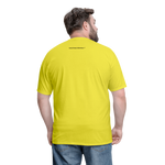 Faith of a Mustard See Men's T-Shirt - yellow