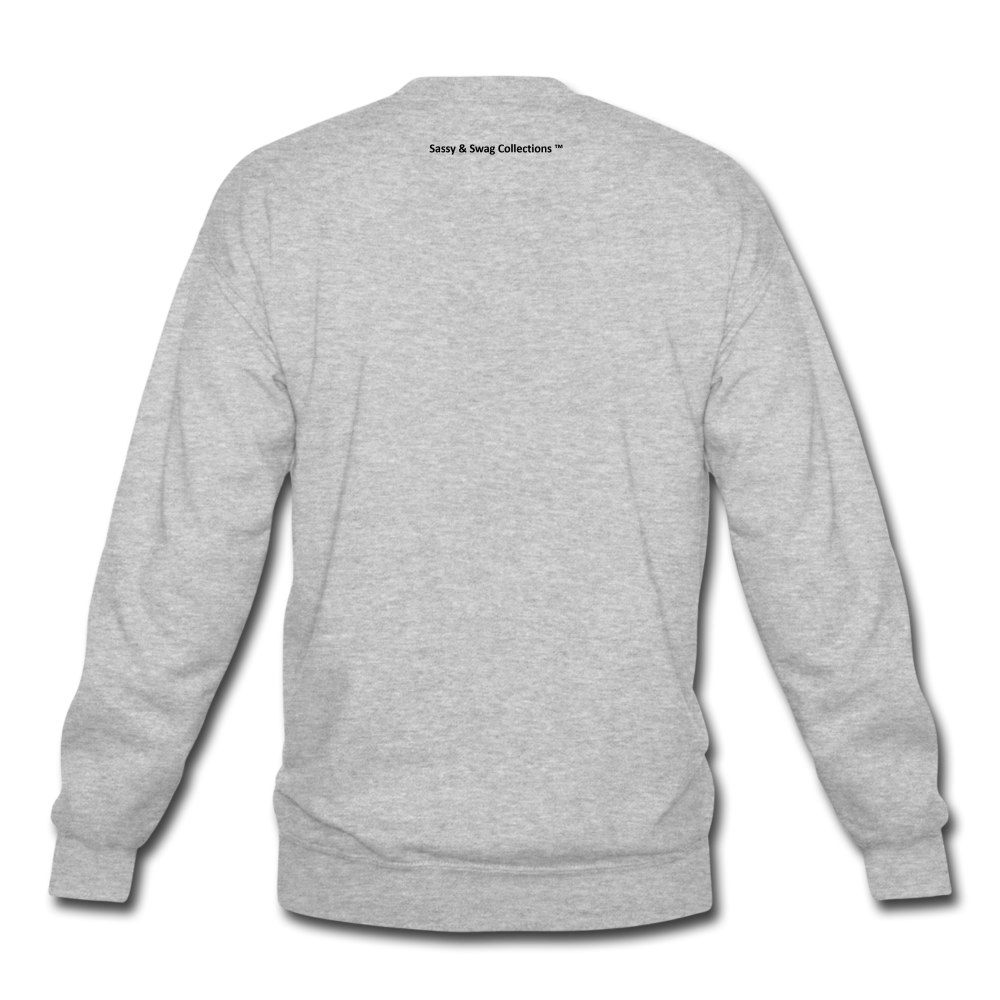 John 8:36 Unisex Crewneck Sweatshirt - heather gray