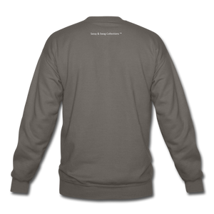Created To Win Unisex Crewneck Sweatshirt - asphalt gray