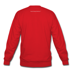 Created To Win Unisex Crewneck Sweatshirt - red