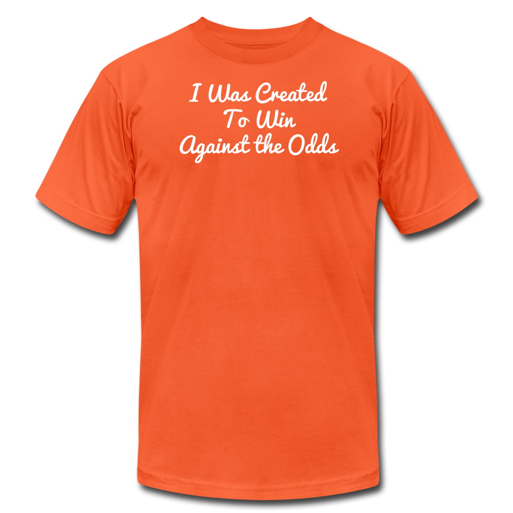 Created To Win Unisex Jersey T-Shirt - orange