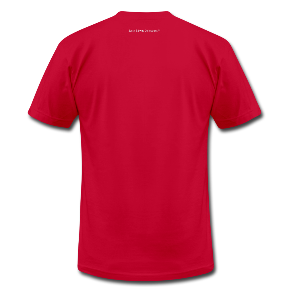 Created To Win Unisex Jersey T-Shirt - red