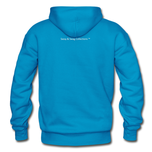In God I Trust Unisex Heavy Blend Hoodie - turquoise