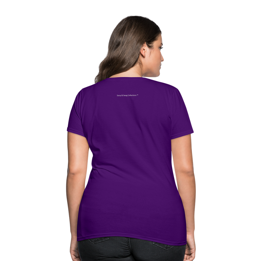 Put on the Whole Armor of God Women's T-Shirt - purple
