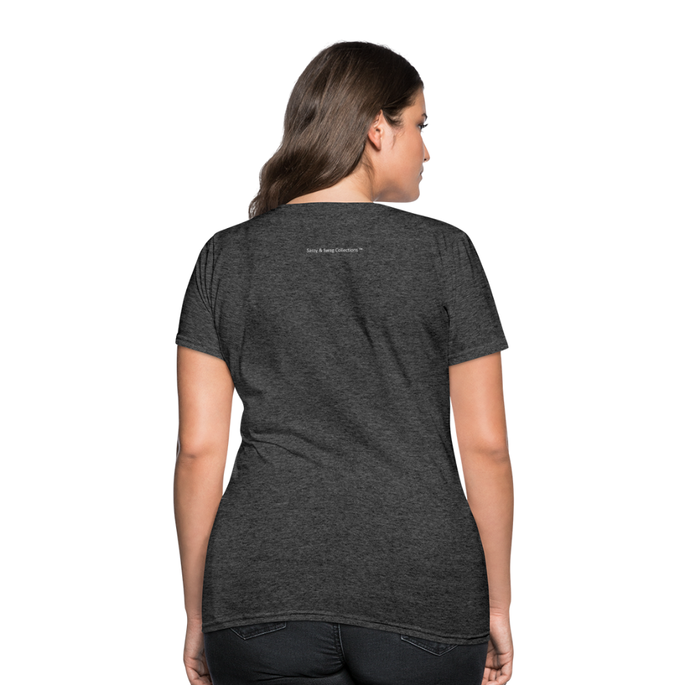 Put on the Whole Armor of God Women's T-Shirt - heather black