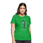 Put on the Whole Armor of God Women's T-Shirt - bright green