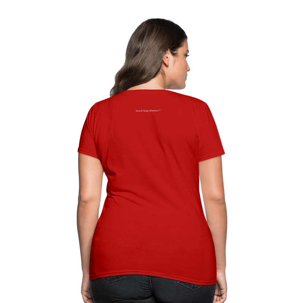 Put on the Whole Armor of God Women's T-Shirt - red