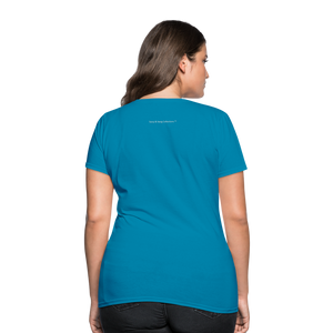Put on the Whole Armor of God Women's T-Shirt - turquoise