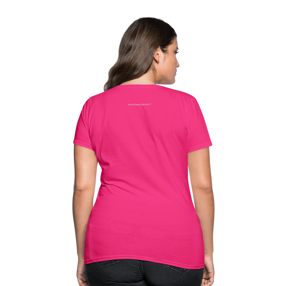 Put on the Whole Armor of God Women's T-Shirt - fuchsia