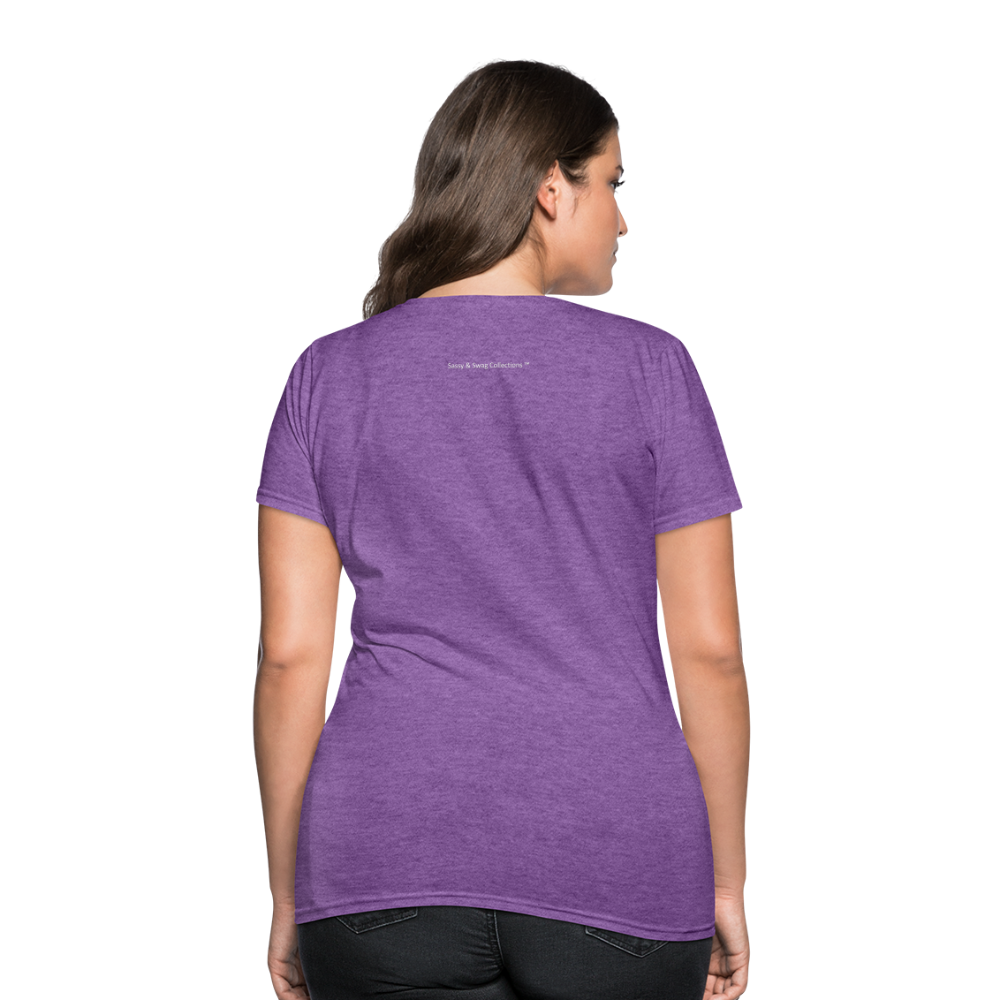 Put on the Whole Armor of God Women's T-Shirt - purple heather