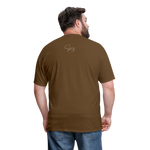 Put on the Whole Armor of God Men's Classic T-Shirt - brown