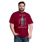 Put on the Whole Armor of God Men's Classic T-Shirt - burgundy