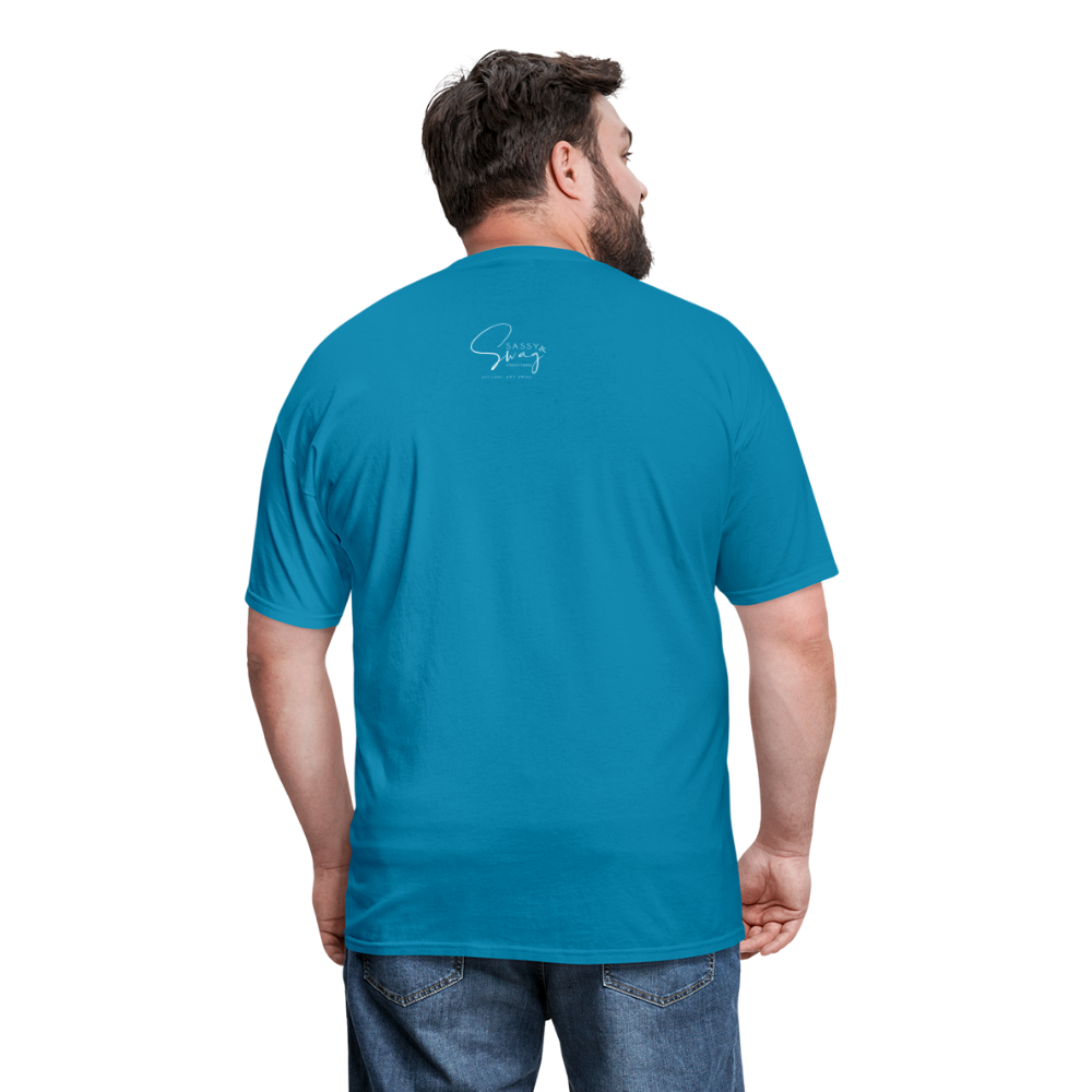 Put on the Whole Armor of God Men's Classic T-Shirt - turquoise